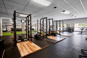 slc strength and conditioning gym floor