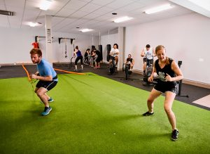 multiple group training sessions at slc strength and conditioning gym